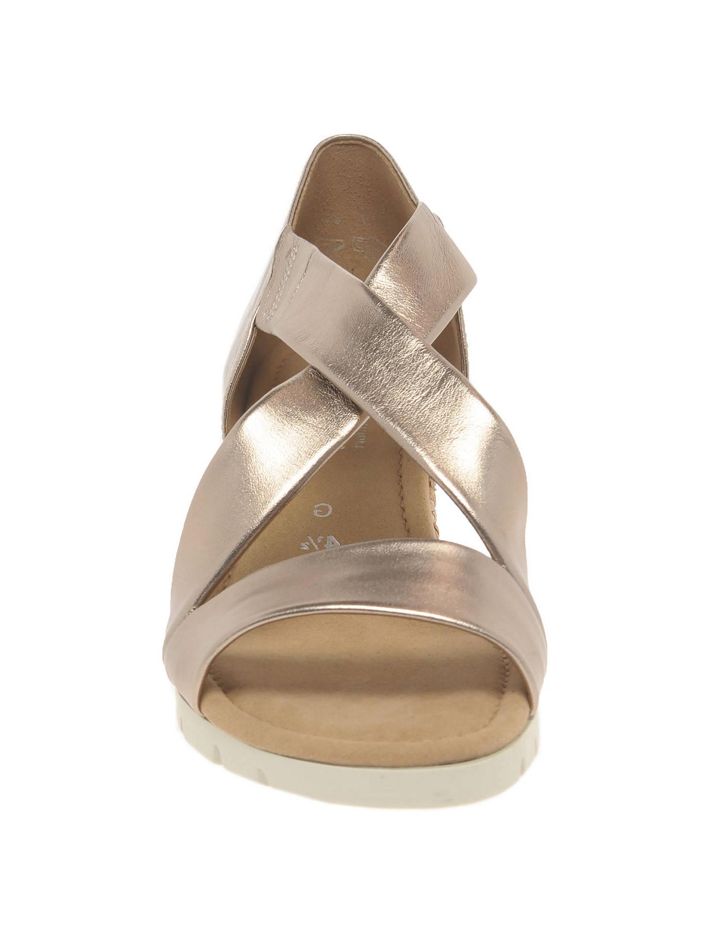 9c4b34a71d0 ... Buy Gabor Lisette Wide Fit Cross Strap Sandals