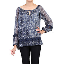 Buy Jolie Moi Crochet Lace Insert Blouse Online at johnlewis.com