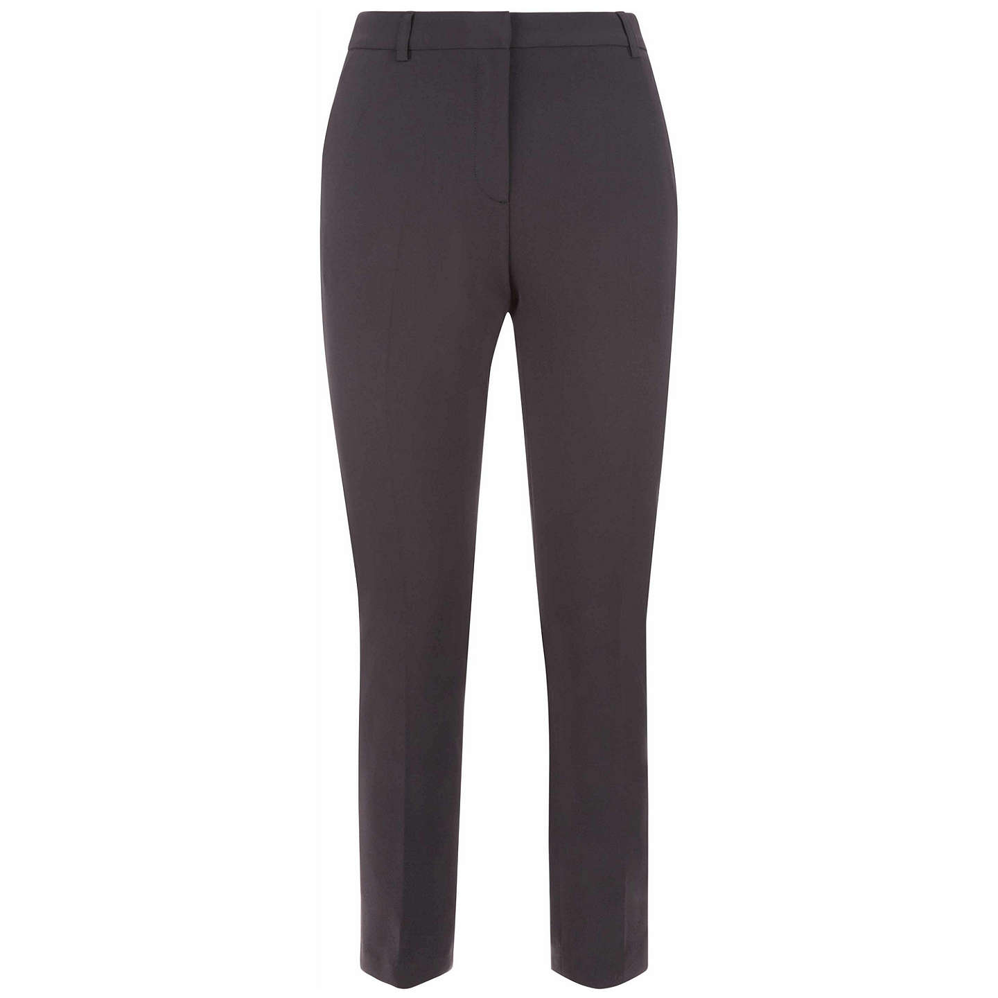 BuyJaeger Skinny Tailored Trousers, Black, 6 Online at johnlewis.com