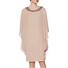 Buy Gina Bacconi Silvia Beaded Neck Dress Online at johnlewis.com