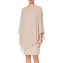 Buy Gina Bacconi Chloe Asymmetric Cape Dress Online at johnlewis.com