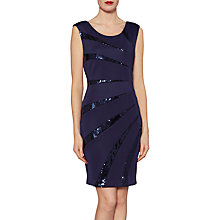 Buy Gina Bacconi Tessa Sequin Dart Dress Online at johnlewis.com