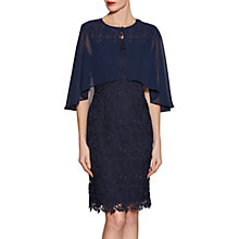 Buy Gina Bacconi Chiffon Cape With Open Back Detail Online at johnlewis.com