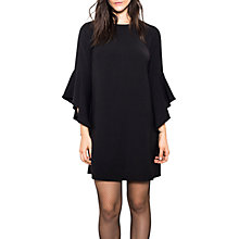 Buy Wild Pony Statement Sleeve Mini Shift Dress, Black Online at johnlewis.com