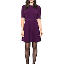 Buy Wild Pony Short Sleeve Dress, Purple Online at johnlewis.com