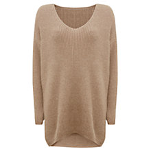 Buy Hygge by Mint Velvet Metallic Oversized Jumper Online at johnlewis.com