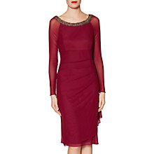 Buy Gina Bacconi Patricia Beaded Neck Dress Online at johnlewis.com