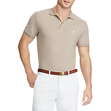 Buy Polo Ralph Lauren Performance Pique Pro Fit Slim Polo Shirt Online at johnlewis.com