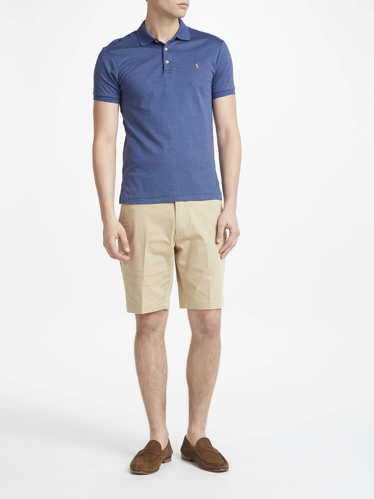 BuyPolo Golf by Ralph Lauren Athletic Shorts, Classic Khaki, 32R Online at johnlewis.com