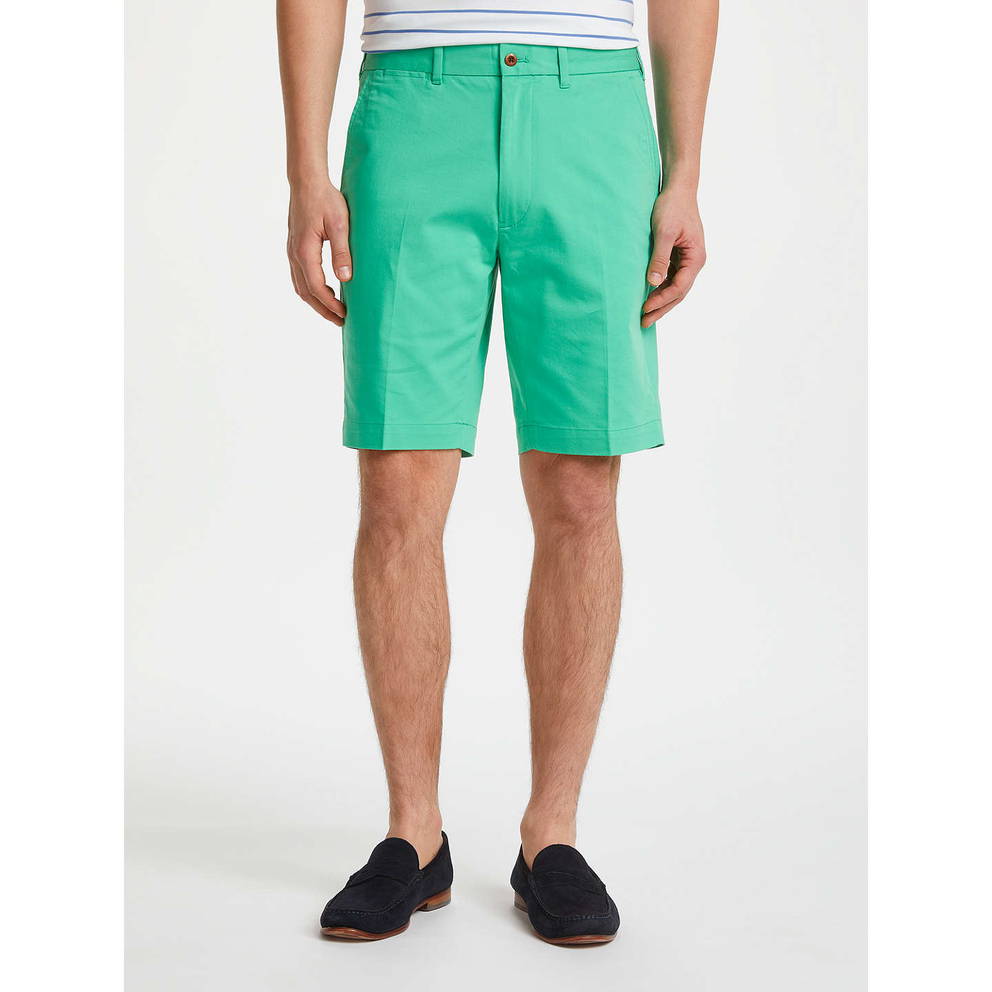 BuyPolo Golf by Ralph Lauren Athletic Shorts, Plato Green, 32R Online at johnlewis.com