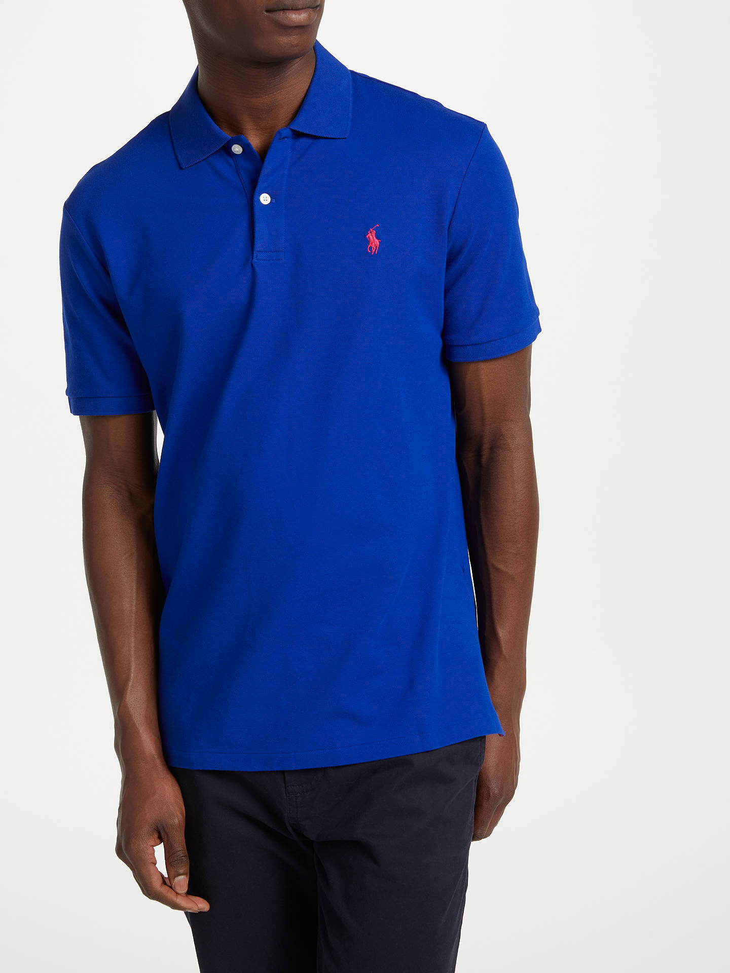 23ac163b5359d2 Buy Polo Golf by Ralph Lauren Stretch Polo Shirt, Heritage Royal, S Online  at ...