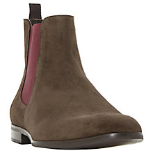 Buy Dune Malcom Suede Chelsea Boots Online at johnlewis.com
