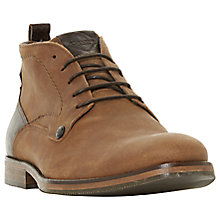 Buy Dune Campari Chukka Boots, Tan Online at johnlewis.com