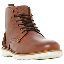 Buy Dune Carlton Contrasting Sole Eyelet Boots Online at johnlewis.com