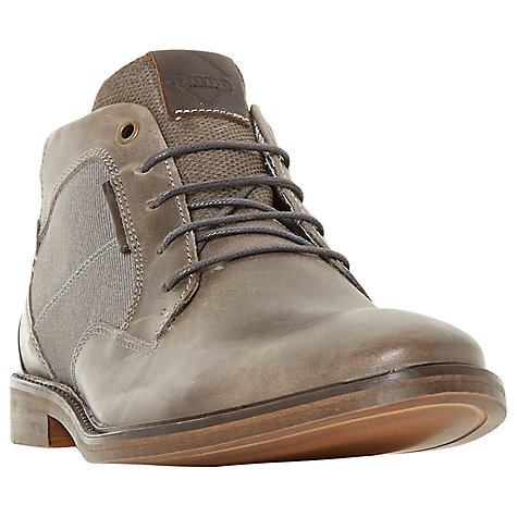 Buy Dune Cosmo Faded Casual Chukka Boots, Grey Online at johnlewis.com
