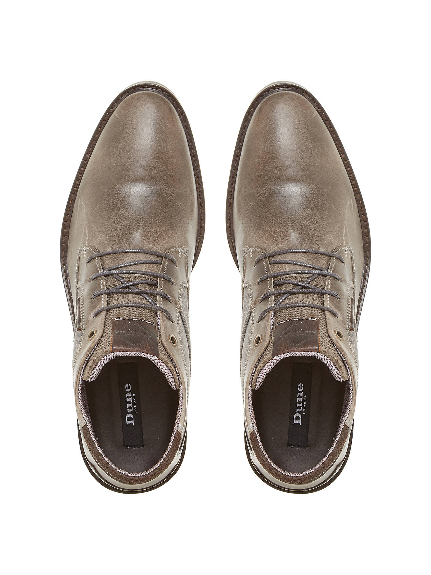 BuyDune Cosmo Faded Casual Chukka Boots, Grey, 7 Online at johnlewis.com