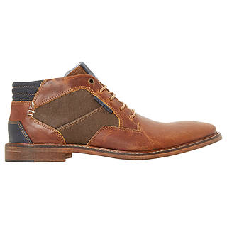 Dune Cosmo Faded Casual Chukka Boots, Tan