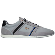 Buy Lacoste Menerva Leather Trainers Online at johnlewis.com