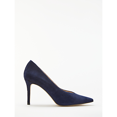 John Lewis Aurrora V Cut Stiletto Heel Court Shoes