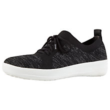 Buy FitFlop F-Sporty Uberknit Slip-On Trainers Online at johnlewis.com