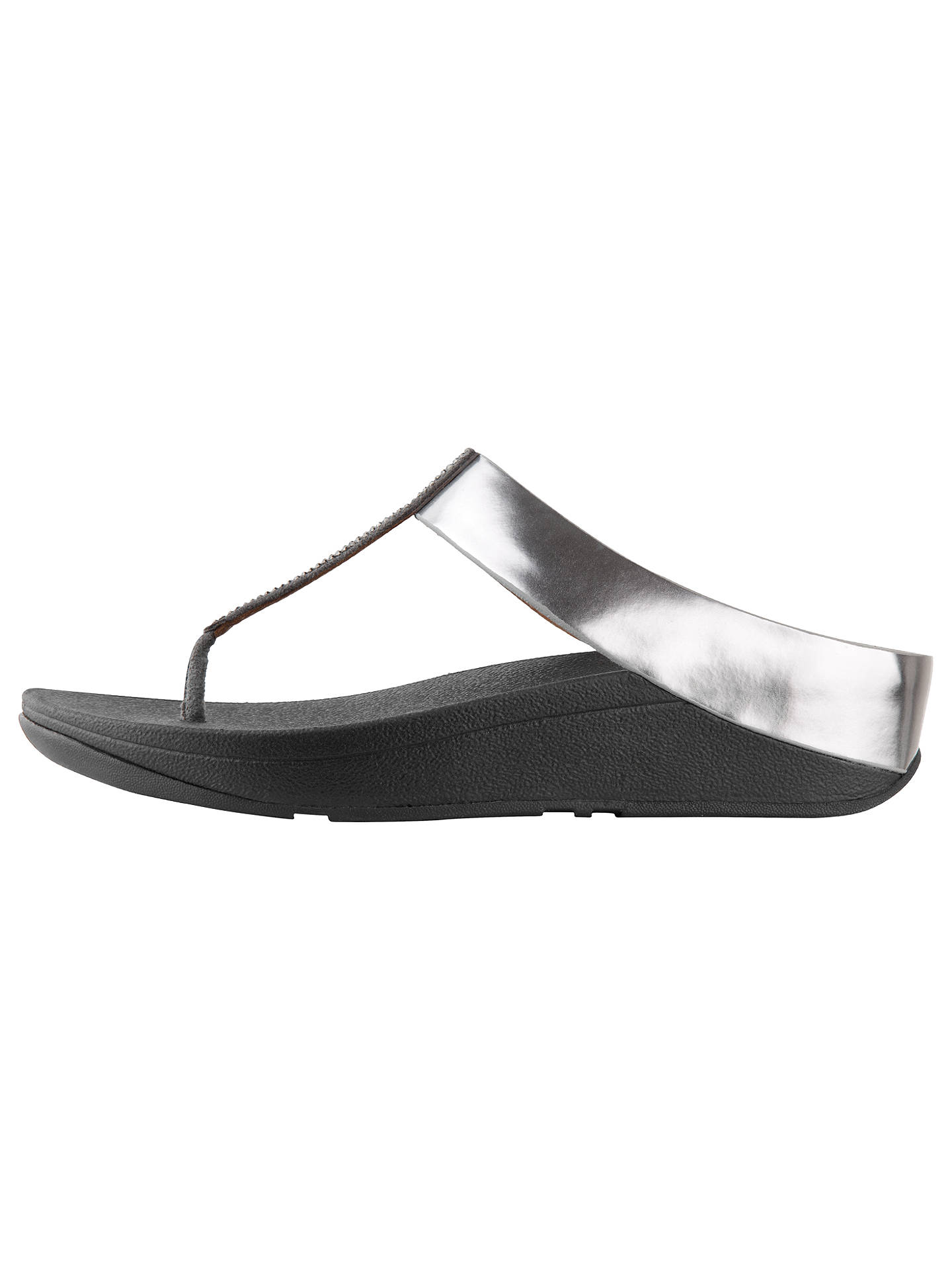 1a86bb916 FitFlop Fino Crystal Toe Post Sandals at John Lewis   Partners