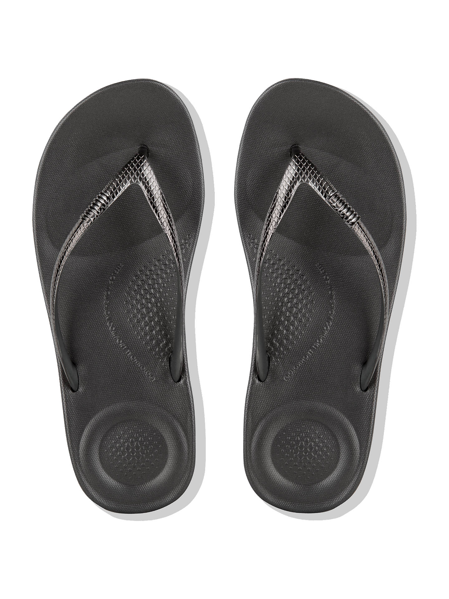 b51f10191aad FitFlop Iqushion Ergonomic Mirror Flip Flops at John Lewis   Partners