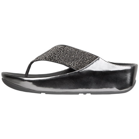 Buy FitFlop Crystall Toe Post Sandals Online at johnlewis.com