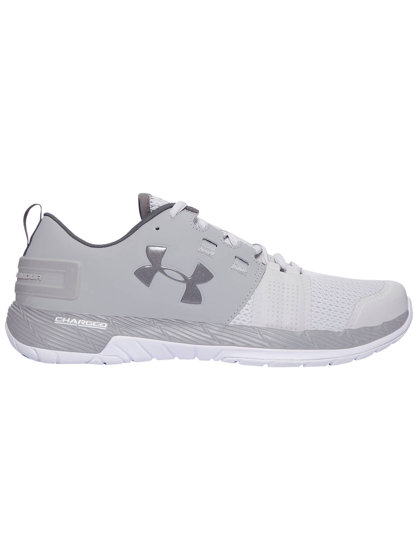 5898d4a51 Buy Under Armour Commit Men's Training Shoes, Grey, 7 Online at johnlewis.  ...