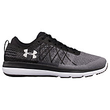 Buy Under Armour SpeedForm Fortis 3 Men's Running Shoes, Black/Grey/White Online at johnlewis.com