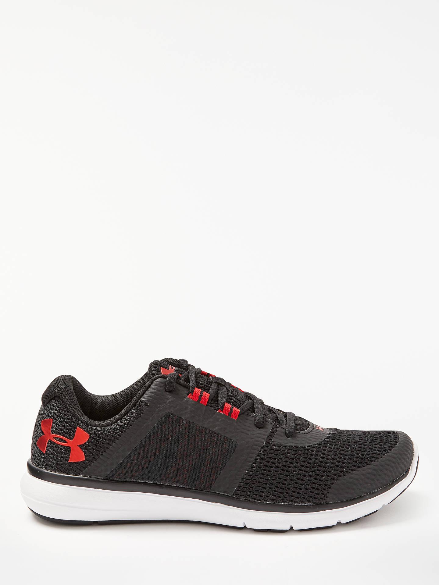 Under Armour Fuse FST Men's Running Shoes, BlackGreyWhite