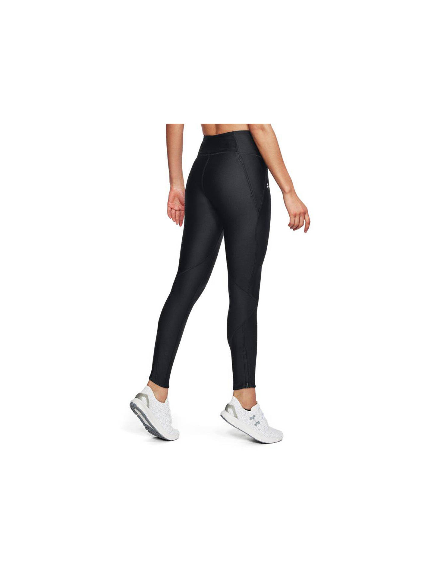 15ceee876b252 ... Buy Under Armour Fly Fast Running Leggings, Black/Reflective Silver, XS  Online at ...