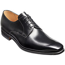Buy Barker Lyle Goodyear Welt Leather Derby Shoes, Black Online at johnlewis.com