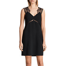 Buy AllSaints Ally Dress, Black Online at johnlewis.com