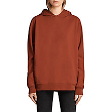 Buy AllSaints Jen Hoody, Copper Red Online at johnlewis.com
