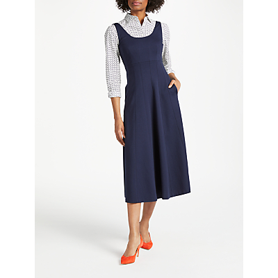 Boden Callie Ponte Dress, Navy