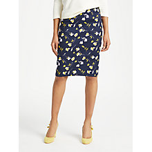 Buy Boden Martha Floral Skirt Online at johnlewis.com