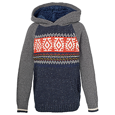 Fat Face Boys' Nordic Hooded Jumper Review