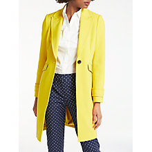 Buy Boden Aileen Coat, Mimosa Yellow Online at johnlewis.com
