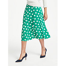 Buy Boden Darlena Spot Skirt Online at johnlewis.com