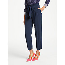 Buy Boden Melina Paperbag Trousers Online at johnlewis.com