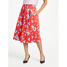 Buy Boden Lola Skirt, Red Pop Online at johnlewis.com