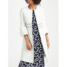Buy Boden Kaley Occasion Coat, Ivory Online at johnlewis.com