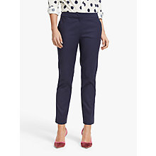 Buy Boden Richmond 7/8 Trousers, Navy Online at johnlewis.com