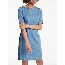Buy Boden Rhea Denim Dress, Mid Vintage Online at johnlewis.com