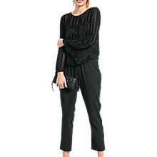 Buy hush Manhattan Top, Black Online at johnlewis.com