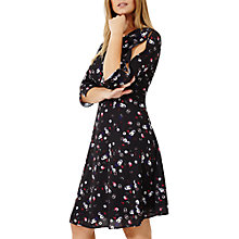Buy Studio 8 Emmy Floral Print Dress, Black/Multi Online at johnlewis.com