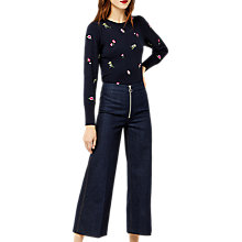 Buy Warehouse Snowdrop Embroidered Jumper Online at johnlewis.com