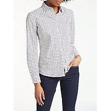 Buy Boden The Classic Shirt, Ecru Online at johnlewis.com