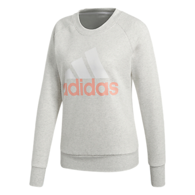 Adidas Essentials Sweatshirt, White Heather