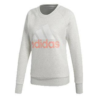 Adidas Essentials Sweatshirt, White Heather
